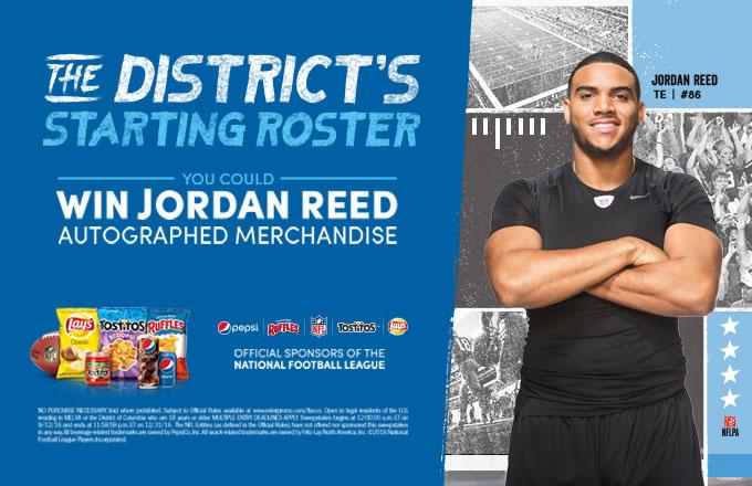 Jordan Reed Pepsi