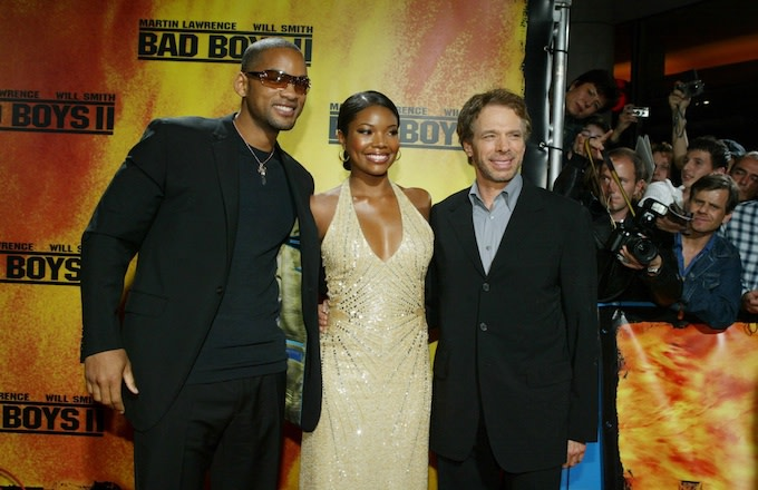 Will Smith Gabrielle Union and Jerry Bruckheimer.