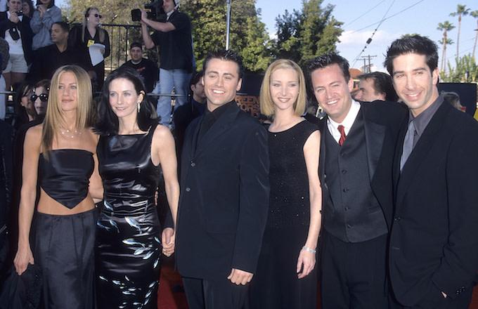 """Friends"" cast attends 1999 Screen Actors Guild Awards."