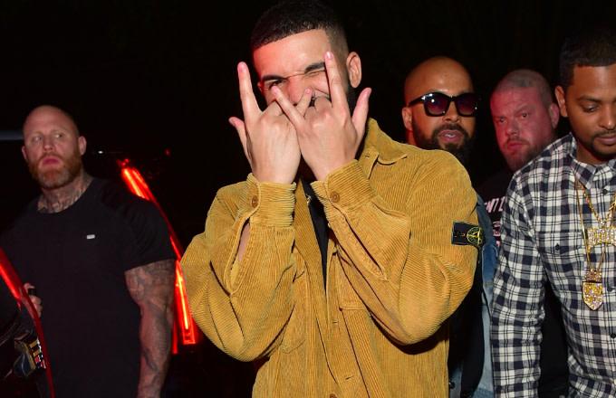 Drake and Migos Finally Kick Off Tour With Floating Ferrari