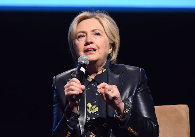 This is a picture of Hillary Clinton.