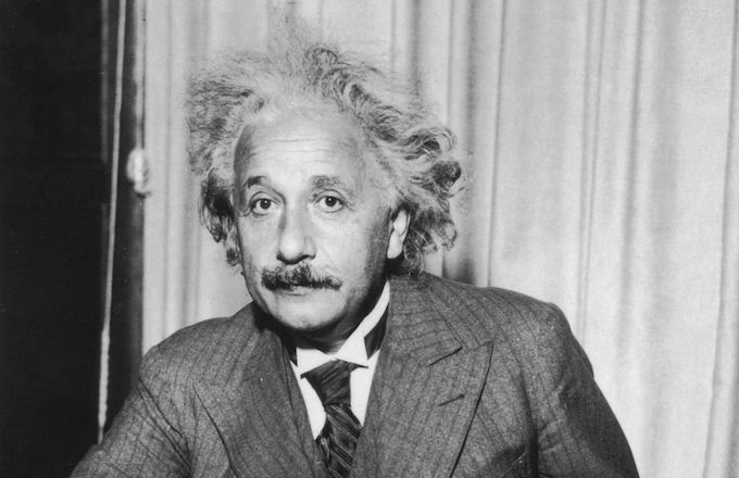 Albert Einstein racist
