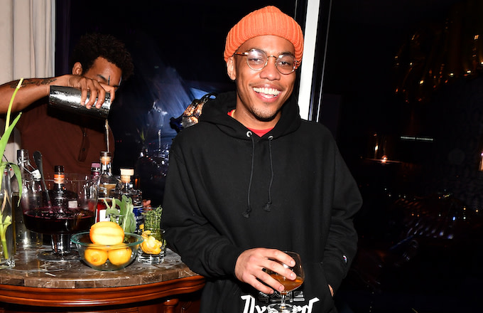 Recording artist Anderson .Paak.