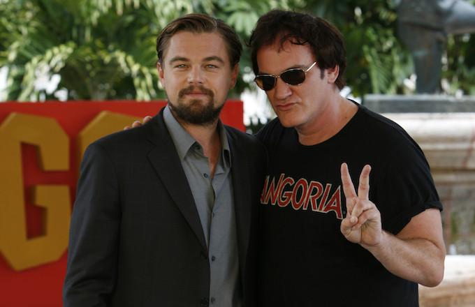 Leonardo DiCaprio and Quentin Tarantino.