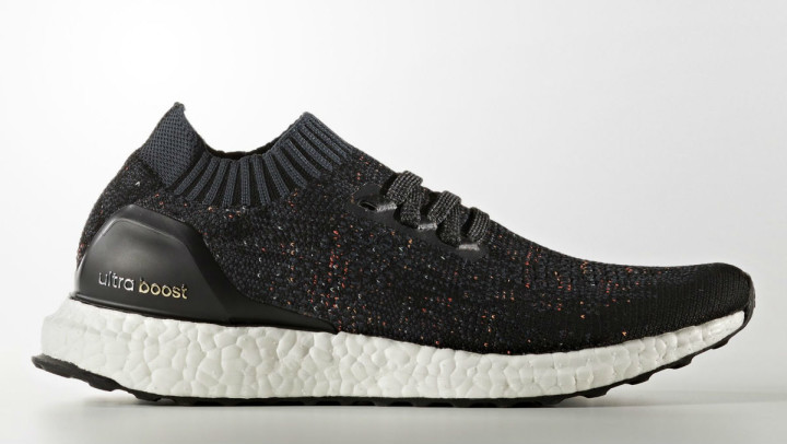 tout neuf d7f7d 3f489 Adidas Ultra Boost Uncaged Black Multicolor Speckle Release ...