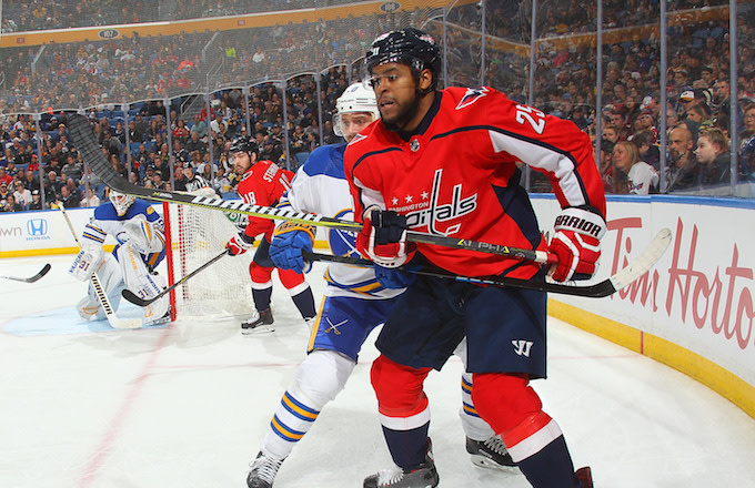 Devante Smith-Pelly of the Washington Capitals.