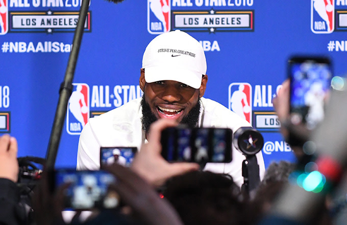 This is a photo of LeBron James.