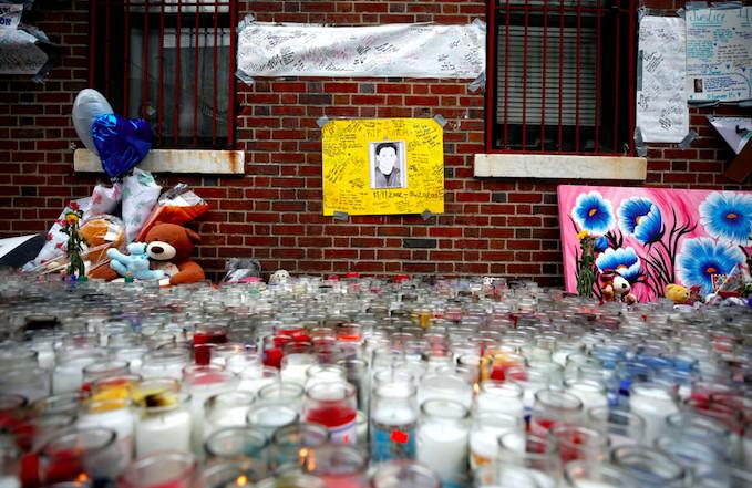 "Lesandro ""Junior"" Guzman-Feliz memorial"