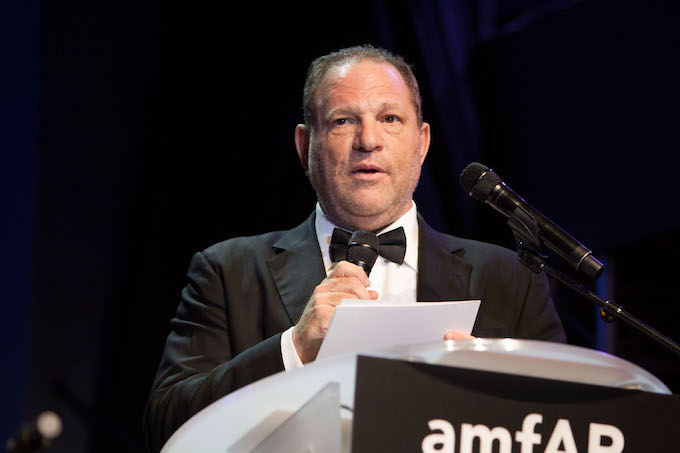 This is a picture of Harvey Weinstein.