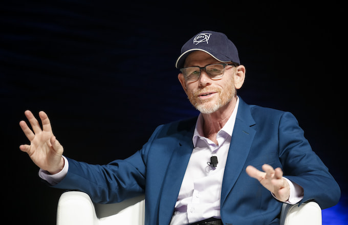 This is Ron Howard at Cannes.