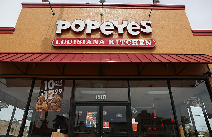 People Are Freaking Out Over Popeyes Selling Out Of Its New