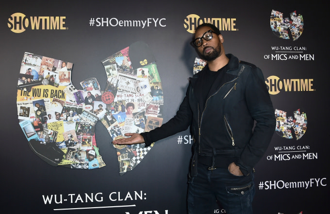 "RZA aka Bobby Digital attends a ""Wu-Tang Clan: Of Mics and Men"""