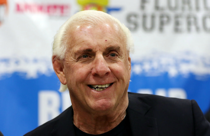 Ric Flair attends Magic City Comic Con