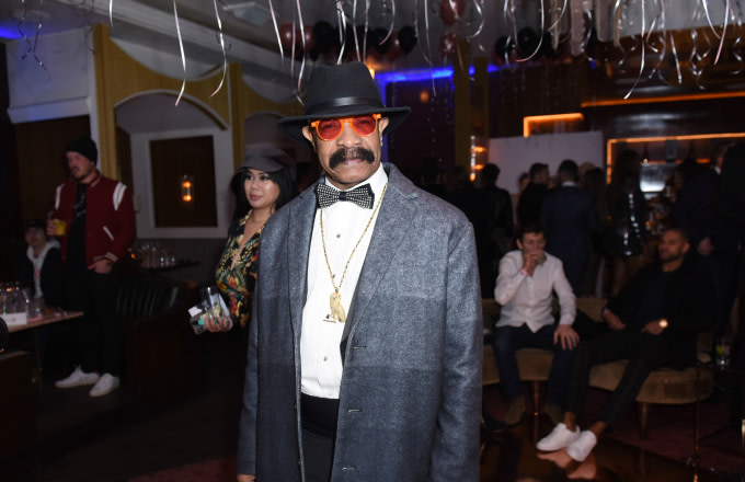 Dennis Graham attends The Mod Sèlection Champagne New Years Party