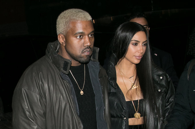 Kim and Kanye in New York City