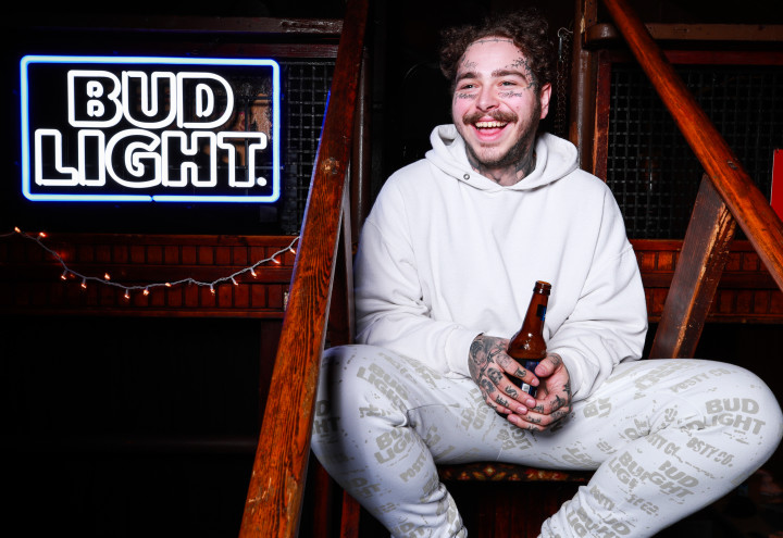 Post Malone and Bud Light Announce Limited Merch Collection