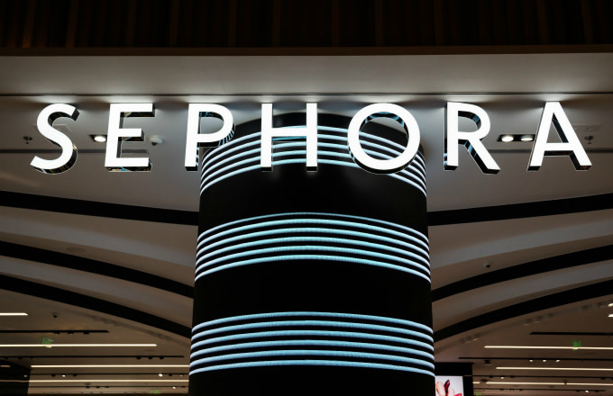 A French multinational chain of personal care and beauty stores Sephora