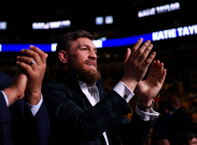 This is Conor McGregor.
