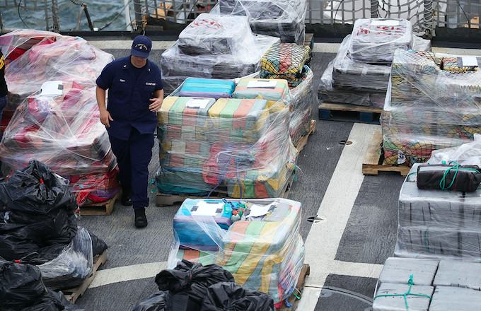 Over 16 Tons of Cocaine Worth $1 Billion Seized at