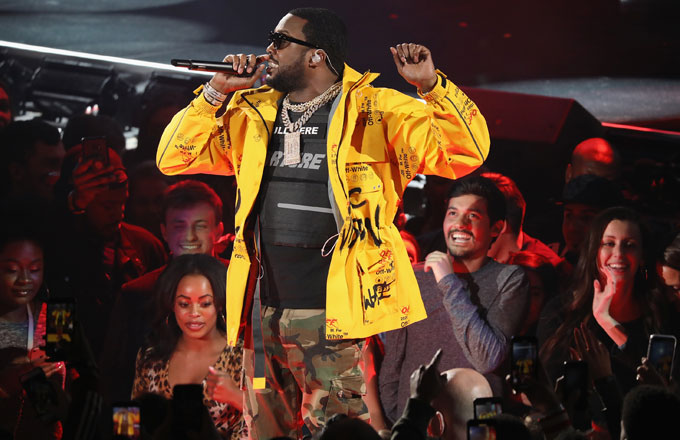 Meek Mill Performs at the 68th NBA All-Star Game