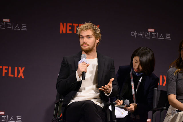 This is a picture of Finn Jones.