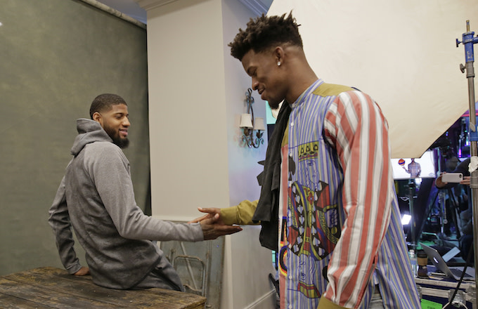 Paul George, Jimmy Butler