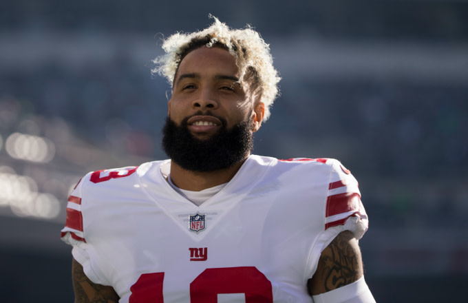 Odell Beckham #13 of the New York Giants