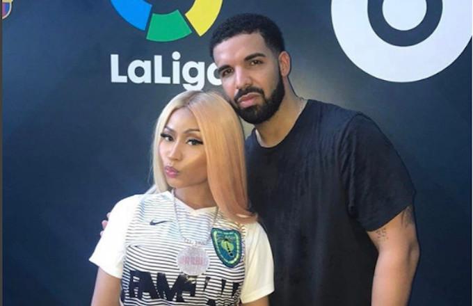 Nicki Minaj and Drake at FamJam