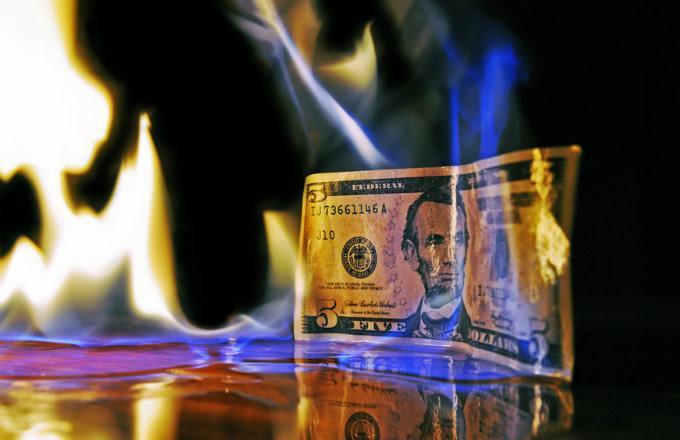 Burn your money now