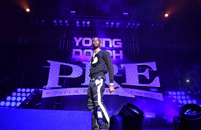Rapper Young Dolph.