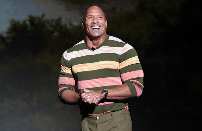 Dwayne Johnson of 'Jungle Cruise' took part in Disney's D23 EXPO 2019.