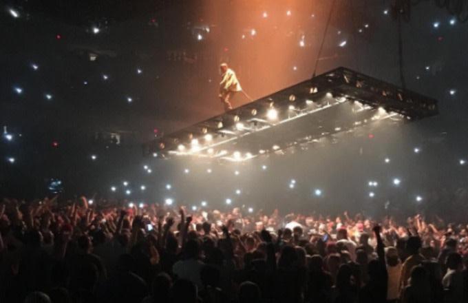 "Kanye West on the ""Saint Pablo"" Tour."
