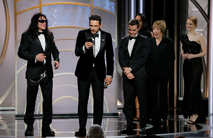 This is a photo of Golden Globes.