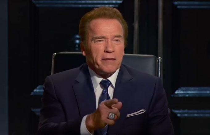 "Arnold Schwarzenegger makes his debut on ""The Celebrity Apprentice."""