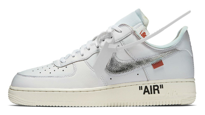 Off-White x Nike Air Force 1 Low Complex Con Release date AO4297-100 Profile