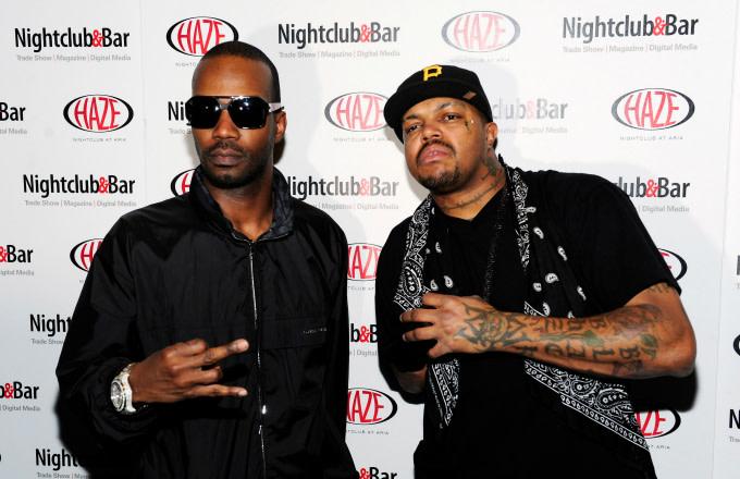 Recording artists Juicy J and DJ Paul