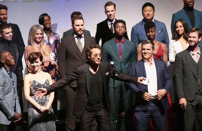 Avengers cast oscars