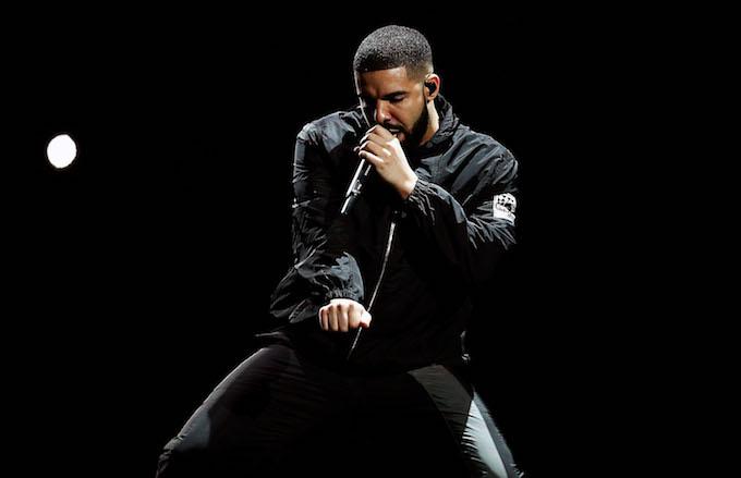 Drake performs at Qudos Bank Arena.