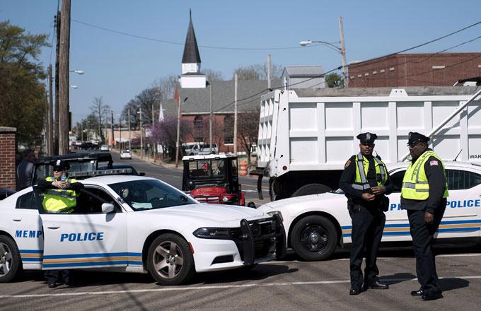 Memphis cop cars