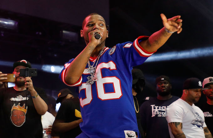 Juelz Santana performs during the 2017 Hot 97 Summer Jam.