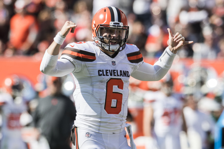 Baker Mayfield Chargers Browns 1 2018