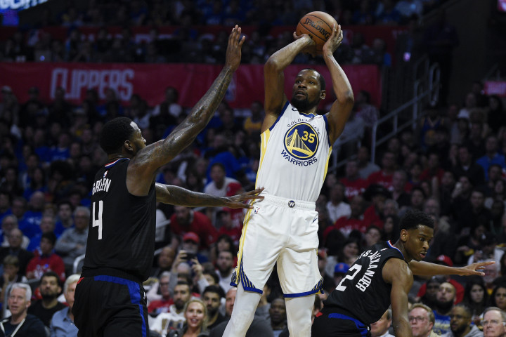 Kevin Durant JaMychal Green Warriors Clippers Game 3 2019 Playoffs