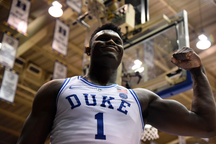 Zion Williamson Duke NC State 2019