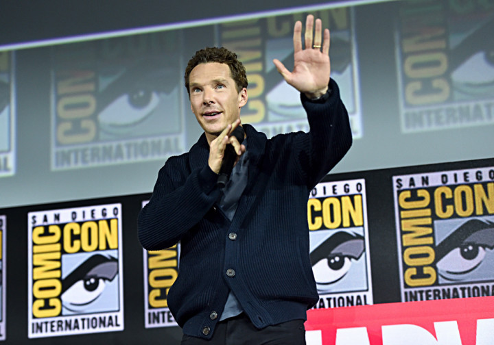 Benedict Cumberbatch at the San Diego Comic-Con 2019