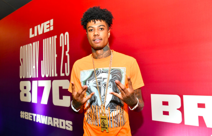 Blueface attends the BET Awards 2019