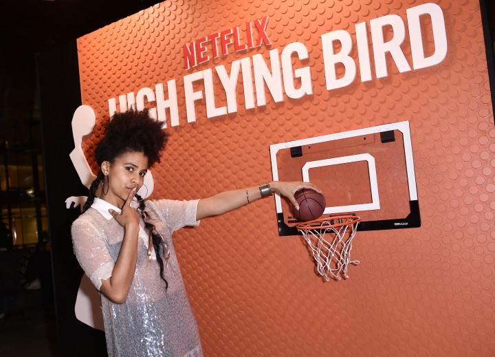 Zazie Beetz of 'High Flying Bird'