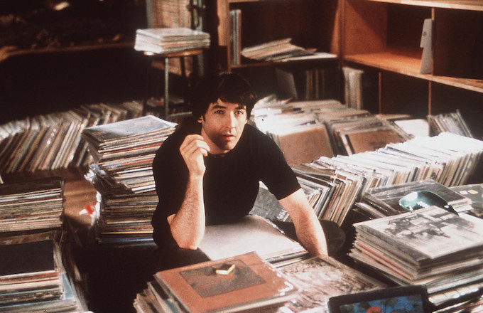 John Cusack in 'High Fidelity' in 2000.