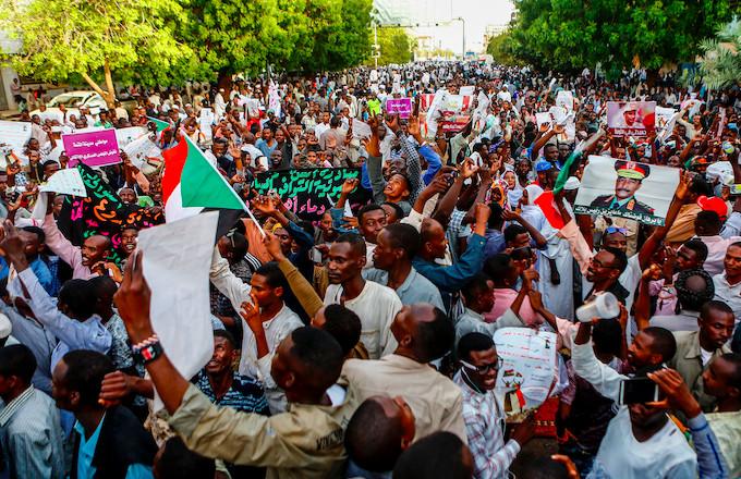 Sudan ASHRAF SHAZLY / AFP