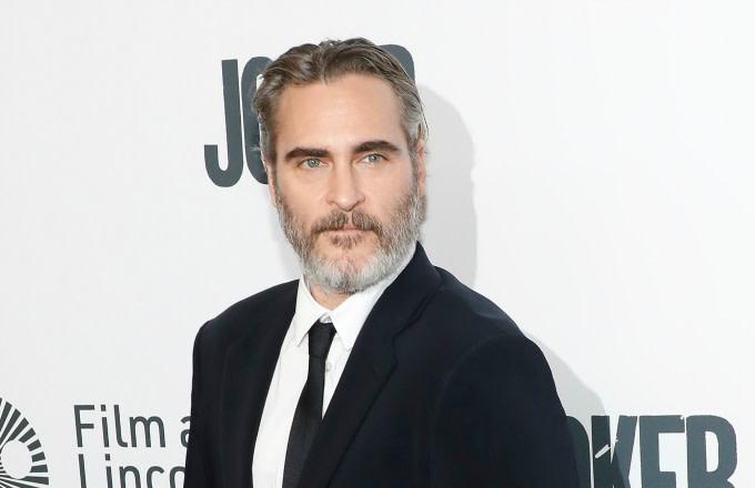 "Joaquin Phoenix attends a New York screening of ""Joker"""