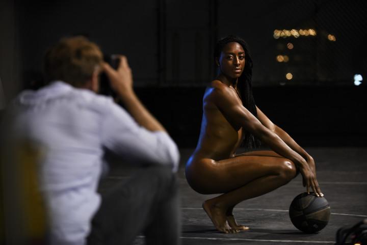 Nneka Ogwumike ESPN BTS